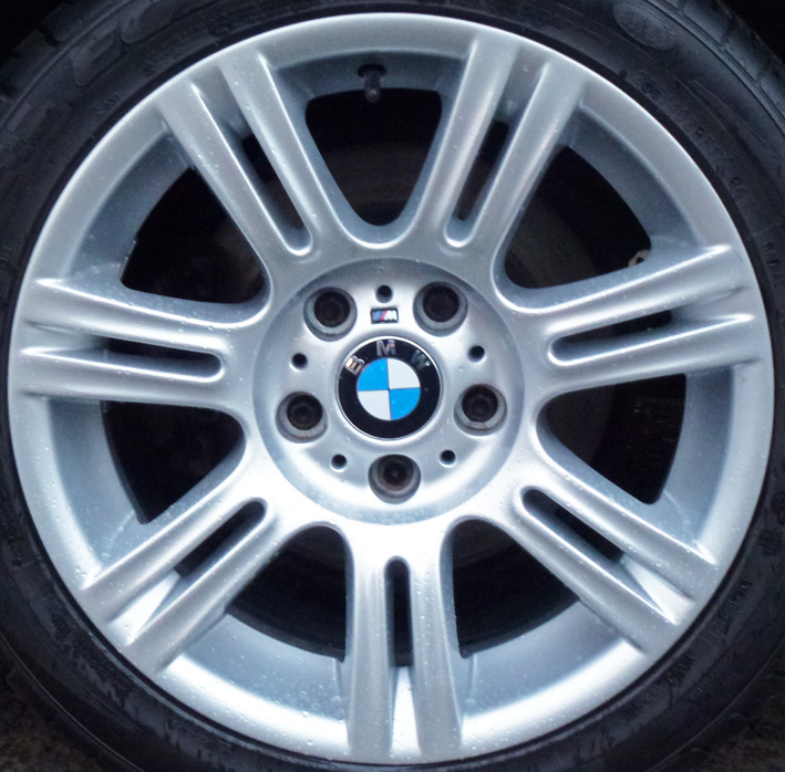 Very Faded BMW Rims Restored « Alloy Wheel Fix